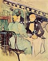Toulouse-Lautrec - Aux Ambassadeurs, Gens Chics, 1893.jpg