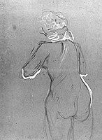 Toulouse-Lautrec - ETUDE DE FEMME NUE DE DOS, 1896, MTL.195.jpg