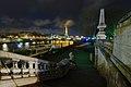 Tour Eiffel vue depuis le pont Alexandre-III, 14 déc 2013.jpg