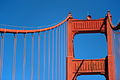 Tower and cables of the Golden Gate bridge in San Francisco 69.jpg