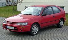 Ketujuh generasi Toyota Corolla.
