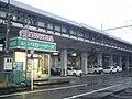 Toyota Rent-A-Lease under Tokaido Shinkansen viaduct in Shizuoka.jpg