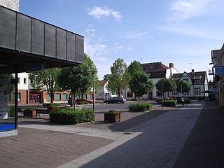 Falköping Place in Västergötland, Sweden