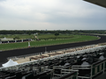 Track bend at Arlington International Racecourse, Chicago, Illinois.png