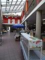 Transparent roof. Market hall. - Szabadság Square, Gödöllő.JPG
