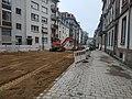 Travaux tram Strasbourg-Koenigshoffen (2019), aménagements à proximité de la station Porte blanche 02.jpg