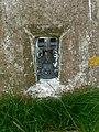 Trig point on Mynydd Rhyd Ddu - geograph.org.uk - 1307625.jpg