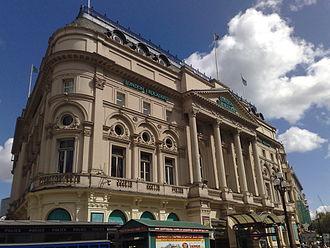 London Trocadero - Exterior facade