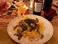 Truffes, pâtes et vin de Vrhunsko à Istria Croatie.jpg