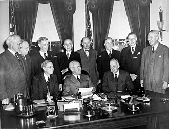 National Defense Research Committee - Image: Truman and the National Defense Research Committee