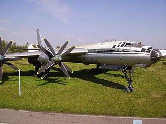 Tupolev Tu-95 - A Tu-116 preserved at Ulyanovsk Aircraft Museum.