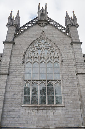 Cathedral of the Assumption of the Blessed Virgin Mary, Tuam - Image: Tuam Cathedral of the Assumption East Window 2009 09 14