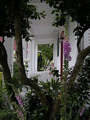 porch in summer