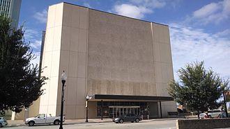 Tulsa Performing Arts Center - View of the Tulsa Performing Arts Center from the corner of 3rd Street and Cincinnati Avenue.