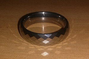 Tungsten carbide - Tungsten carbide ring