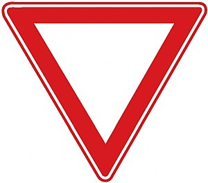 Road signs in Turkey - Image: Turkish road sign 1