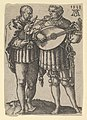 Two Musicians Playing the Violin and the Lute, from The Small Wedding Dancers MET DP836717.jpg