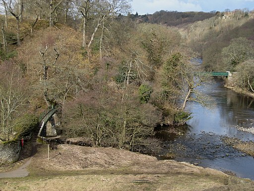 Two rivers and two bridges - geograph.org.uk - 1755317