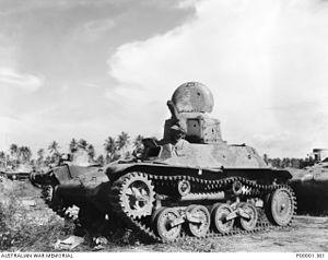 Type 97 Te-Ke - A Type 97 Te-Ke in New Britain in 1945