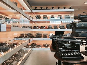Technical Museum of the Empordà - One of five rooms containing the museum's typewriter collection