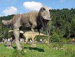 Tyranozaur (Tyrannosaurus) - JuraPark Baltow (3)