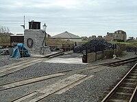 Tywyn Wharf coaling stage - 2008-03-18.jpg
