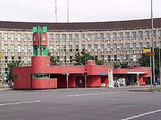 Fehrbelliner Platz (Berlin U-Bahn) - Entrance hall from 1971