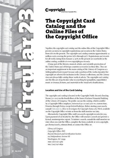 File:U.S. Copyright Office circular 23.pdf
