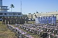 U.S. Navy Region Hawaii chief petty officers and chief petty officer selectees attend a 9-11 commemoration ceremony in Pearl Harbor, Hawaii, Sept 140911-N-FK070-087.jpg