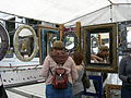 U. Dist. Street Fair 2007 mirrors.jpg
