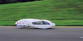 SAE Supermileage Competition - The UBC supermileage vehicle attaining cruise speed