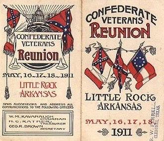 United Confederate Veterans - Confederate veterans reunion
