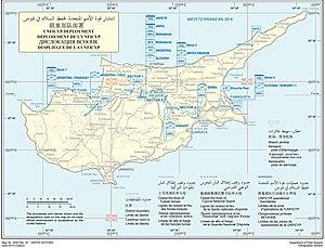 United Nations Peacekeeping Force in Cyprus - UNFICYP deployment as of 2015