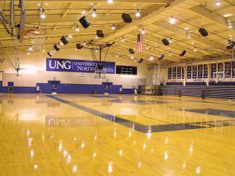 North Georgia Nighthawks - Memorial Hall Gym basketball court