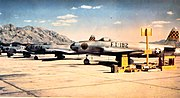 USAF Fighter Weapons School F-80 44-85182