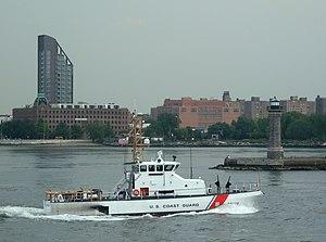 Marine Protector-class patrol boat - Image: USCG Sailfish Roosevelt Is jeh