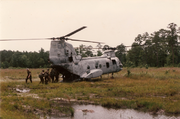 USMC Camp Lejeune-Bermuda Regiment & USMC CH-46 Sea Knight