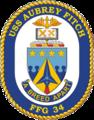 USS Aubrey Fitch (FFG-34) insignia, 1995.png