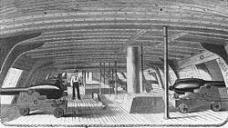 Cañones a bordo - 1862