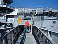 USS Hornet (CV-12) gangway.JPG