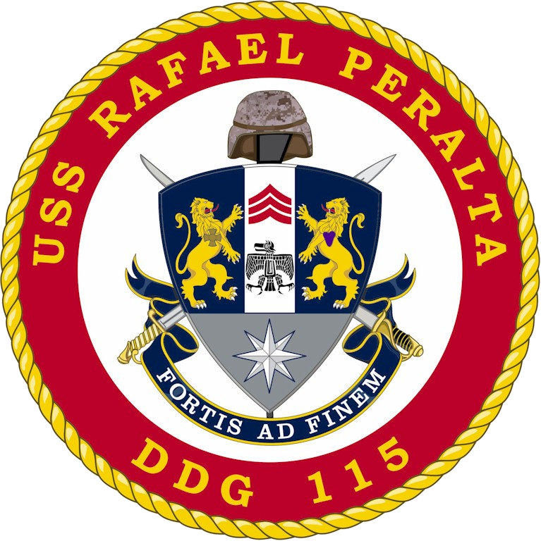 USS Rafael Peralta (DDG-115) Crest