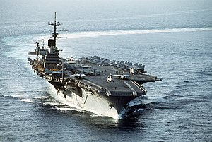 USS Saratoga (CV-60) underway during Desert Storm.jpg