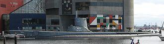 USS Torsk - Port-side profile
