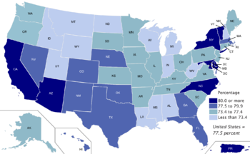 What state has the highest ratio of women to men?