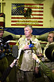 US Navy 021222-N-4142G-007 Gen. Richard B. Myers, Chairman of the U.S. Joint Chiefs of Staff, takes questions from members of the national and international press.jpg