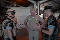 US Navy 080606-N-1825E-043 Adm. Mark Fitzgerald, commander, U.S. Naval Forces Europe-commander, Allied Joint Force Command Naples, talks with Mobile Security Sailors.jpg