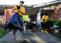 US Navy 100505-N-5862D-017 Chief Petty Officer Jason Reynolds helps his neighbors pack their household goods into a storage trailer at Naval Support Activity Mid-South in Millington, Tenn.jpg