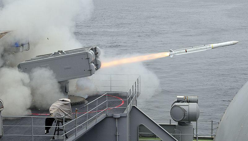 US$ 140 milhões em mísseis Sea Sparrow para o Chile