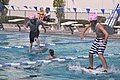 US Navy 110721-N-FO977-055 Navy Junior ROTC cadets compete against each other in the walk on water competition.jpg