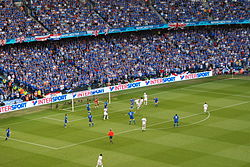 The 2008 UEFA Cup Final in Manchester which Rangers contested